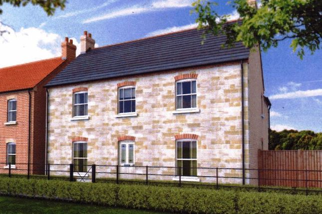 Thumbnail Detached house for sale in The Grange, Heath Road, Scothern