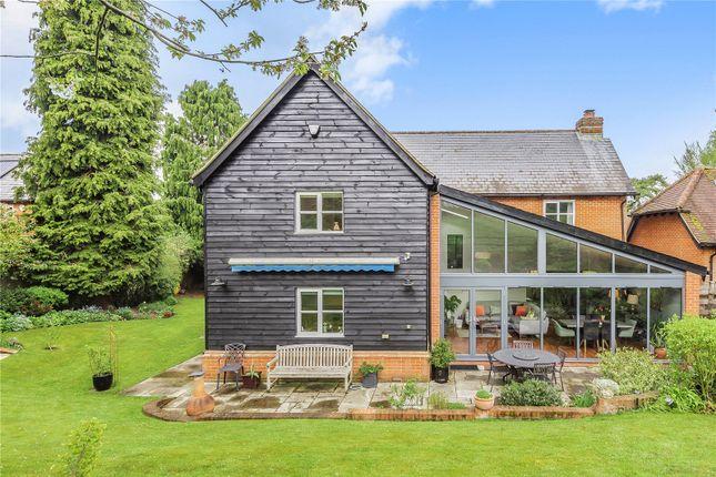 Thumbnail Detached house for sale in Kings Acre, King's Somborne, Stockbridge, Hampshire