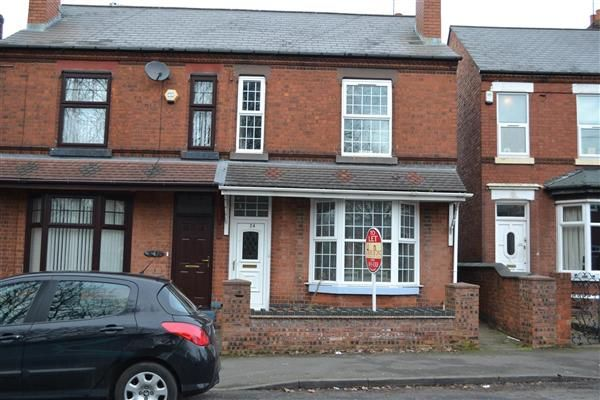 Thumbnail Semi-detached house to rent in Butts Road, Walsall