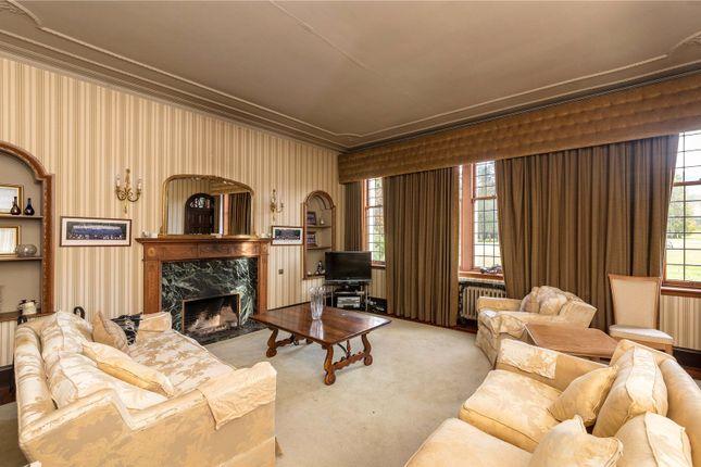 Sitting Room of Boquhan House, Boquhan, Stirling FK8