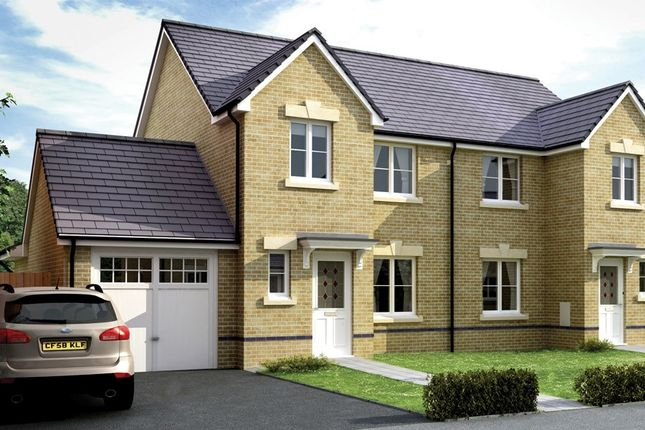 Thumbnail Semi-detached house for sale in The Gileston, Padfield, Tonyrefail, Rhondda