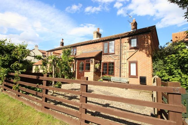 Thumbnail Cottage for sale in Manor View Road, Lebberston, Scarborough