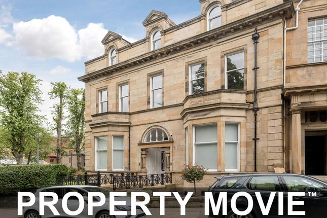 Thumbnail Town house for sale in Lancaster Crescent, Kelvinside, Glasgow
