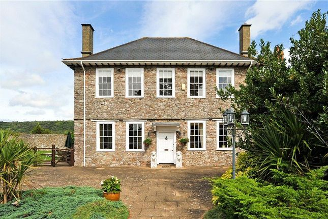 Detached house for sale in Tickenham Hill, Tickenham, Clevedon, Somerset