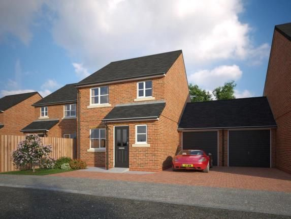 Thumbnail Link-detached house for sale in The Common, Knowle Lane, Buckley, Flintshire