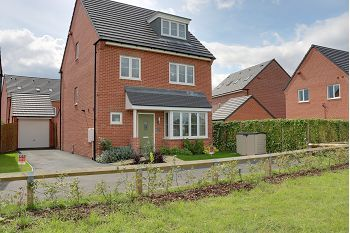 Thumbnail Detached house for sale in Higher Croft Drive, Coppenhall