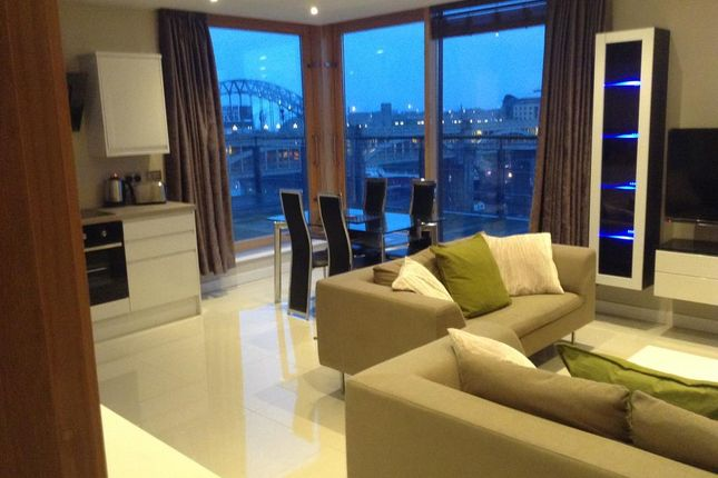 Thumbnail Flat to rent in Quayside Lofts, Newcastle