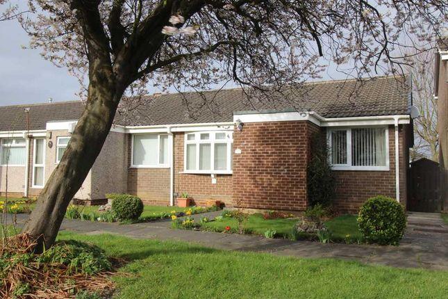 Thumbnail Bungalow for sale in Windermere Close, Southfield Lea, Cramlington