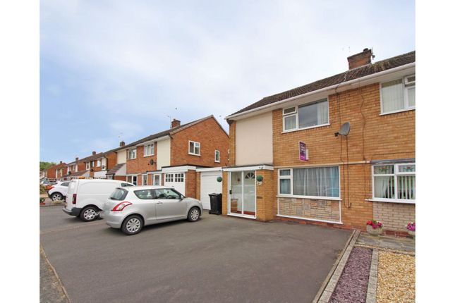 Thumbnail Semi-detached house for sale in Well Meadow, Bridgnorth