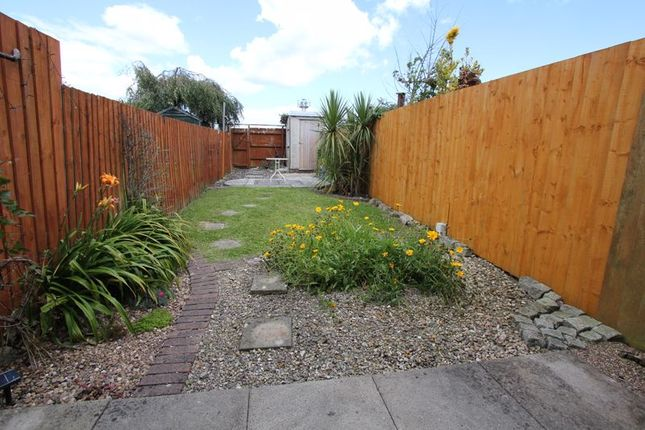Rear Garden of The Wheate Close, Rhoose, Barry CF62