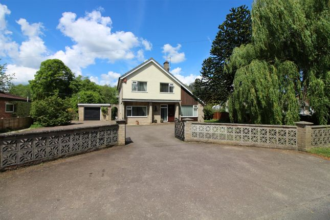 Thumbnail Detached house for sale in Tasburgh Road, Saxlingham Thorpe, Norwich