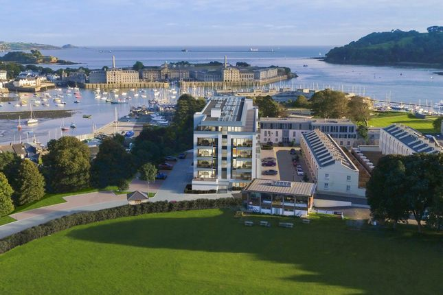 Thumbnail Flat for sale in Discovery Road, Plymouth