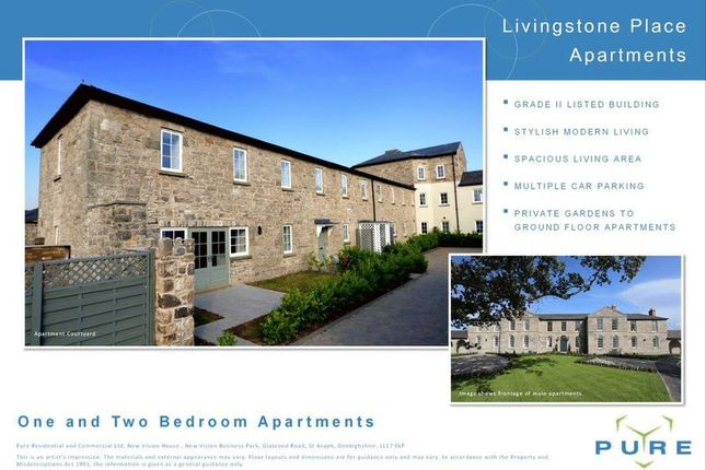 Thumbnail Flat for sale in New Vision Business, Glascoed Road, St. Asaph