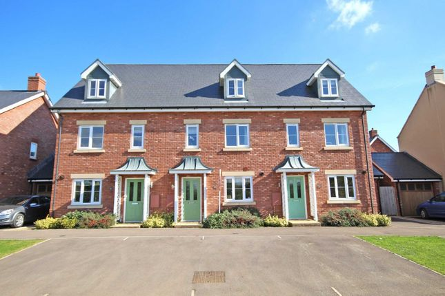 Thumbnail Terraced house for sale in Vale Road, Bishops Cleeve, Cheltenham, Gloucestershire