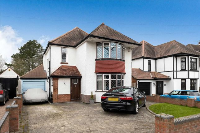 Thumbnail Detached house for sale in Towncourt Crescent, Petts Wood, Orpington