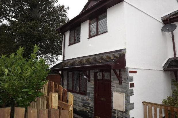 Thumbnail End terrace house to rent in Raleigh Close, Padstow
