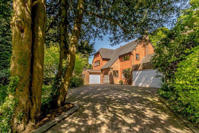 Thumbnail Detached house for sale in Roman Road, Little Aston Park, Sutton Coldfield