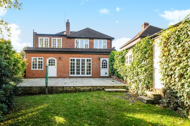 Thumbnail Detached house to rent in Guildford Road, Lightwater