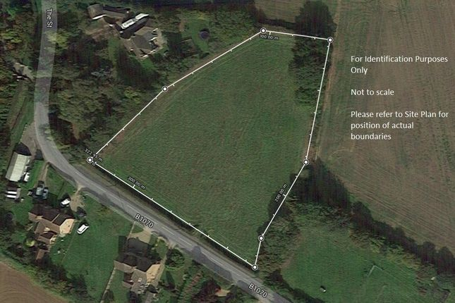 Thumbnail Land for sale in The Gardens, Raydon, Ipswich