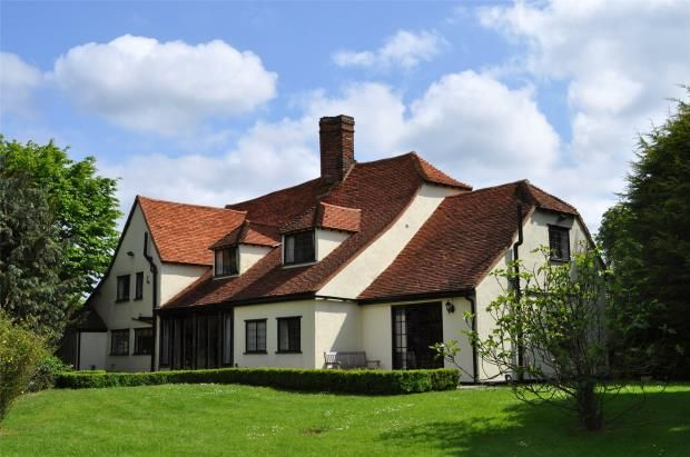 Thumbnail Detached house for sale in Cherry Green, Nr Henham, Dunmow, Essex