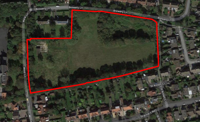 Thumbnail Land for sale in West Lane/Brewery Lane, Formby