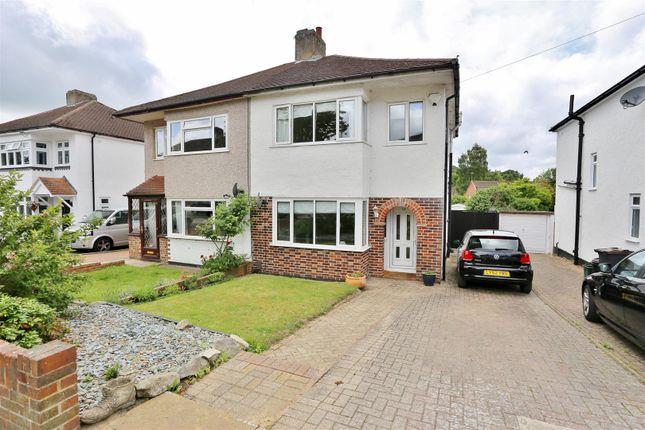 Thumbnail Semi-detached house for sale in Bassetts Way, Farnborough, Orpington
