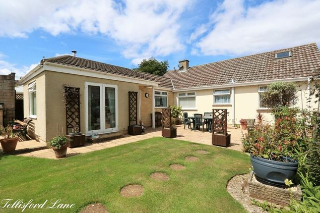 Thumbnail Detached bungalow for sale in Tellisford Lane, Norton St. Philip, Bath