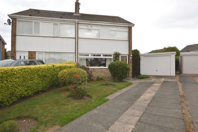 Thumbnail Semi-detached house for sale in Moorgate Road, Kippax, Leeds, West Yorkshire
