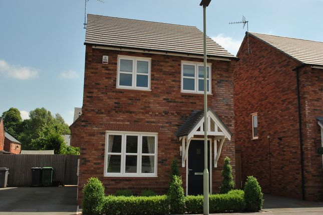 Thumbnail Detached house to rent in Canal Way, Ellesmere, Shropshire