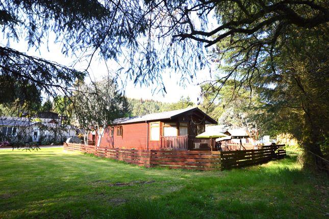 Thumbnail Bungalow for sale in Riverlea Lodge, Glendevon Park, Glendevon, Dollar, Clackmannanshire