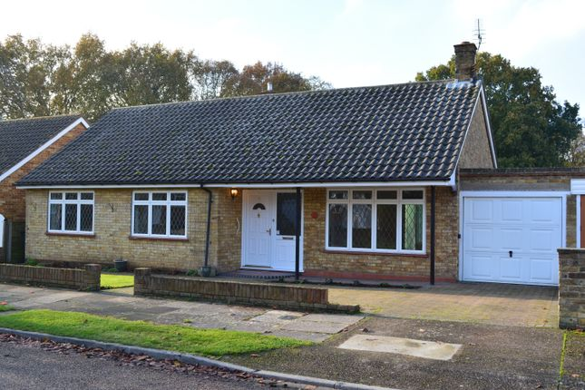 Thumbnail Detached bungalow to rent in Old Forge Crescent, Shepperton