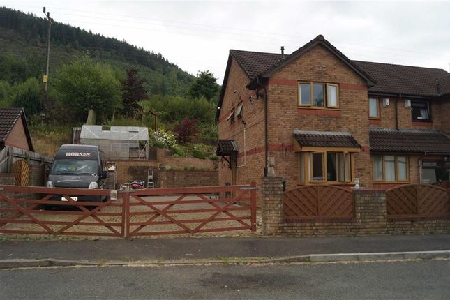 Thumbnail Semi-detached house for sale in Forest View, Mountain Ash