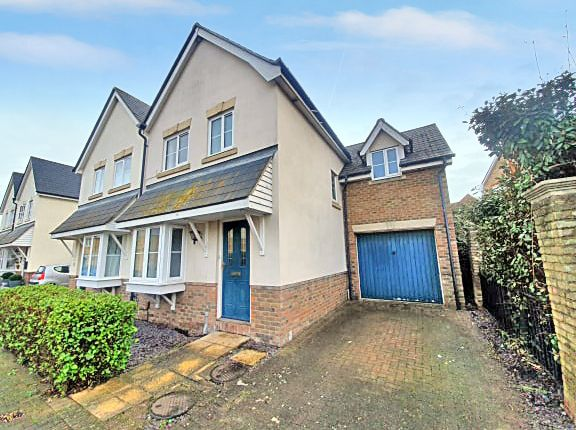 Thumbnail Semi-detached house to rent in Redshank Road, St. Marys Island, Chatham