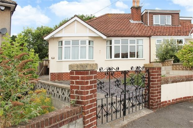 Thumbnail Semi-detached bungalow for sale in Dunkery Road, Weston-Super-Mare, North Somerset.