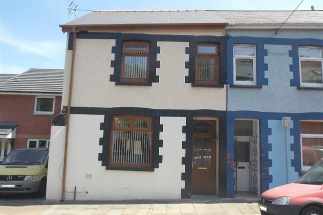 Thumbnail End terrace house for sale in Crawshay Street, Ynysybwl, Pontypridd