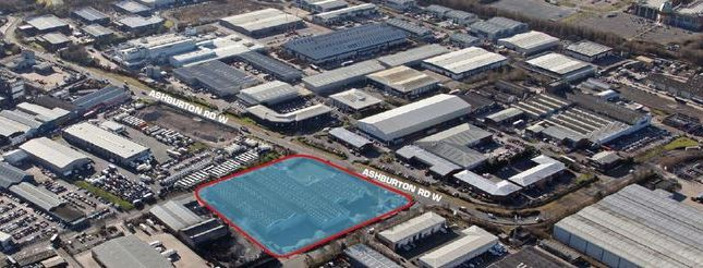 Thumbnail Land to let in Guinness Road, Trafford Park, Manchester