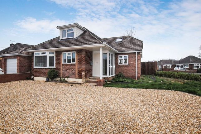 Thumbnail Detached bungalow for sale in Sharon Road, West End, Southampton