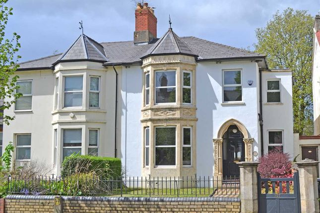 Thumbnail Semi-detached house for sale in Newport Road, Roath, Cardiff
