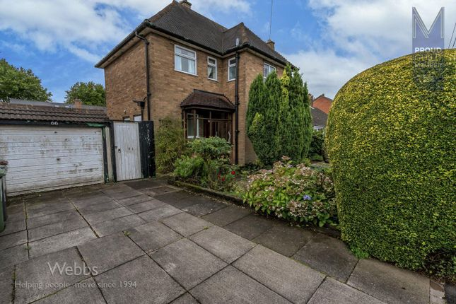 Thumbnail Detached house for sale in Victoria Avenue, Bloxwich, Walsall