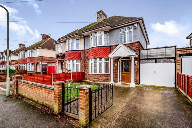 Thumbnail Semi-detached house for sale in Harewood Road, Bedford, Bedfordshire