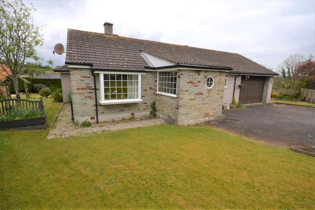 Thumbnail Detached bungalow for sale in Sandercock Close, Downgate, Callington, Cornwall