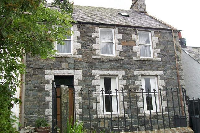 Thumbnail Terraced house for sale in Creebridge, Minnigaff, Newton Stewart, Wigtownshire