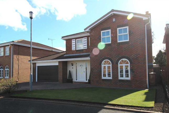 Detached house for sale in Woburn Close, Northburn Park, Cramlington