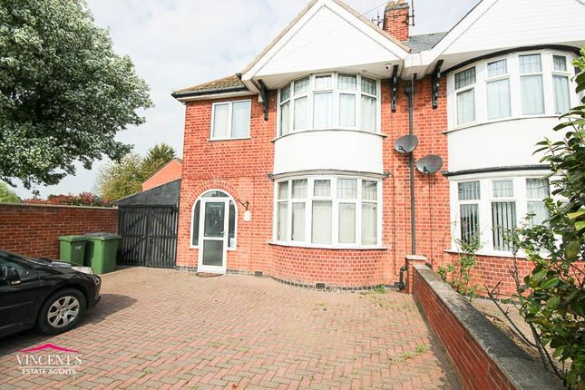 Semi-detached house to rent in Narborough Road South, Leicester