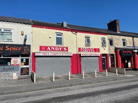 Thumbnail Retail premises for sale in 31-33 Lovely Lane, Warrington, Cheshire
