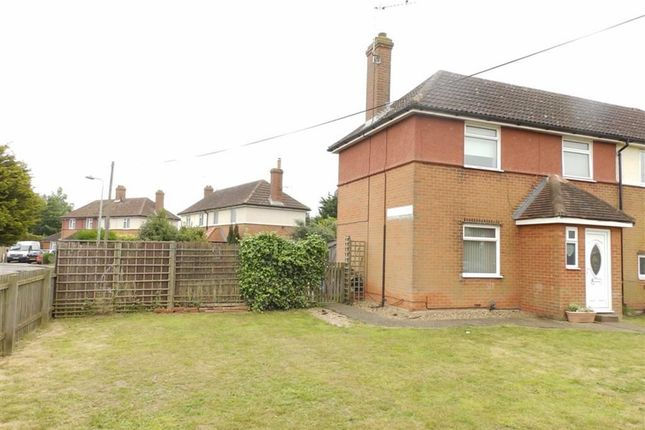 Thumbnail Semi-detached house for sale in Leighton Road, Ipswich, Suffolk