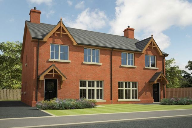Thumbnail Semi-detached house for sale in Hunter's Chase, Ballinderry Lower, Lisburn