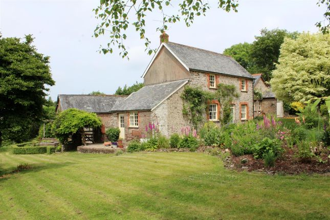 Thumbnail Detached house for sale in Martinhoe, Parracombe, Barnstaple