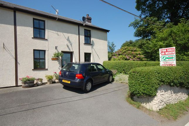 Thumbnail Semi-detached house for sale in Ponterwyd, Aberystwyth