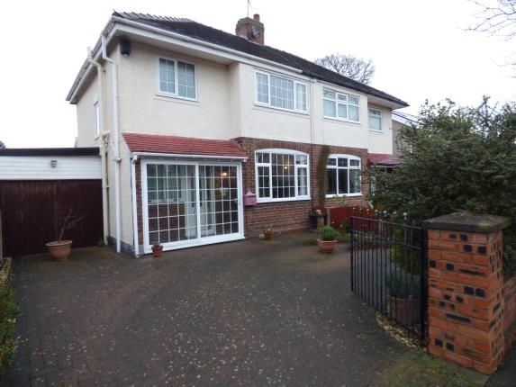 Thumbnail Semi-detached house for sale in Orchard Road, Whitby, Ellesmere Port, Cheshire